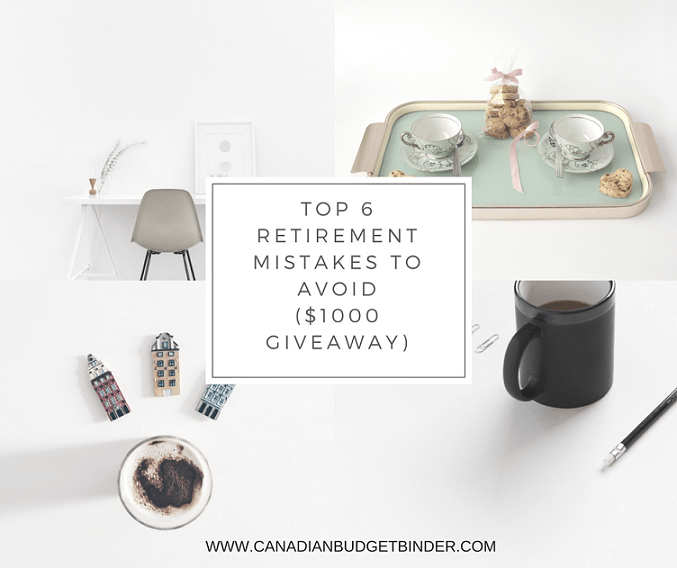 TOP 6 RETIREMENT MISTAKES TO AVOID ($1000 GIVEAWAY)TOP 6 RETIREMENT MISTAKES TO AVOID ($1000 GIVEAWAY)