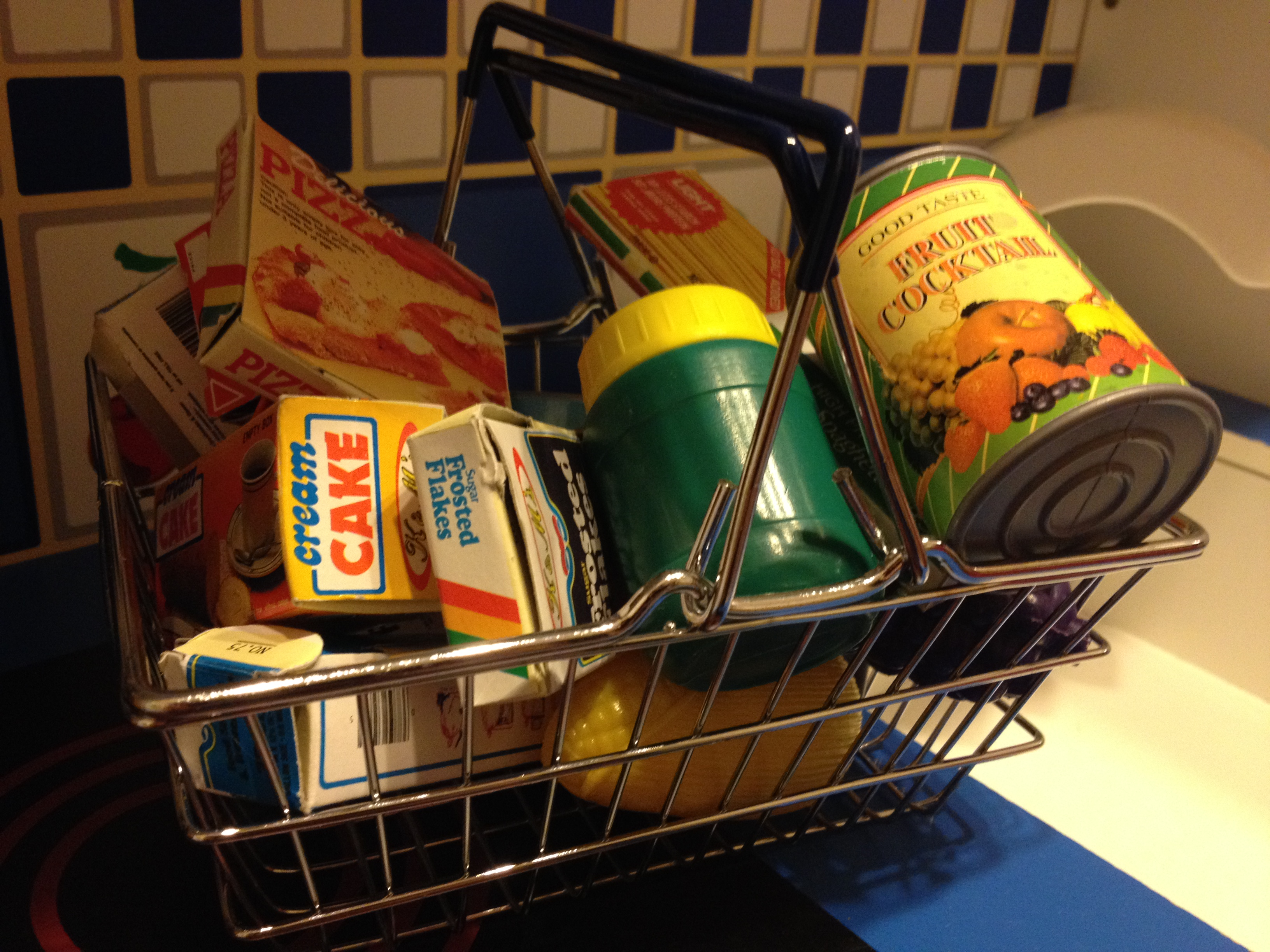 grocery shopping basket