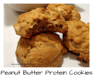 peanut butter protein cookies low carb lchf