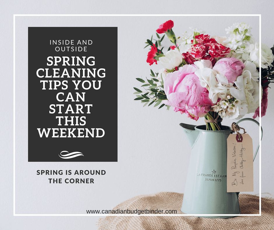 Spring Cleaning Tips To Help Get Your Check-list Started : The Saturday Weekend Review #215 ...