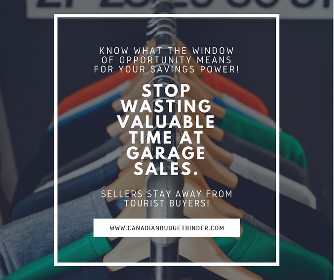ARE YOU WASTING VALUABLE TIME AT GARAGE SALES_ARE YOU WASTING VALUABLE TIME AT GARAGE SALES_