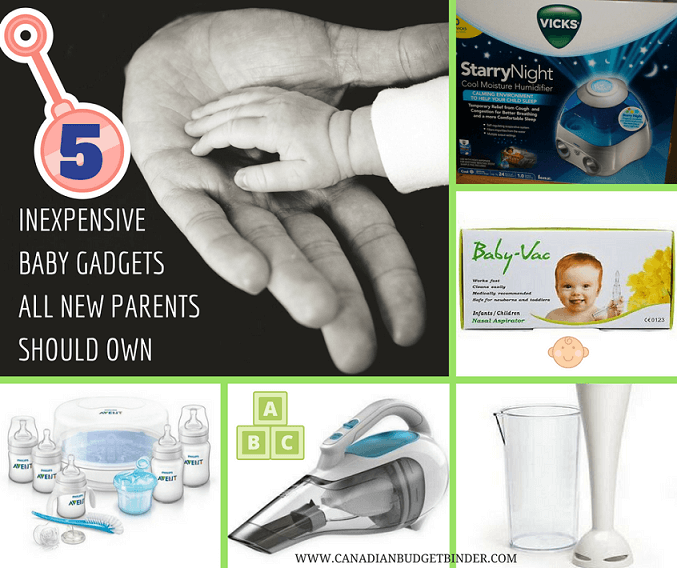 INEXPENSIVE BABY GADGETS ALL NEW PARENTS SHOULD OWN FB