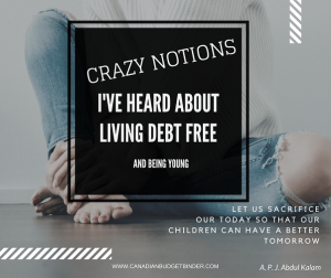 NOTIONS PEOPLE MAKE ABOUT BEING DEBT FREE AND YOUNGNOTIONS PEOPLE MAKE ABOUT BEING DEBT FREE AND YOUNG