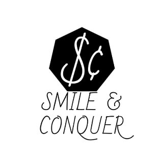 smile and conquer blog logo