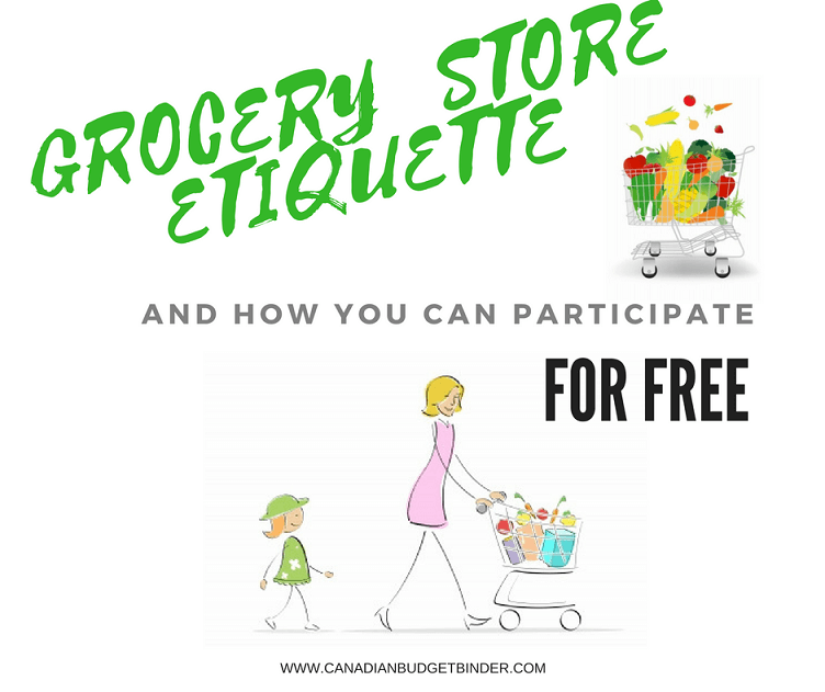 Grocery Store Etiquette and How You Can Participate For Free : The Grocery Game Challenge 2017 #2 May 8-14