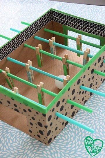 diy foosball table