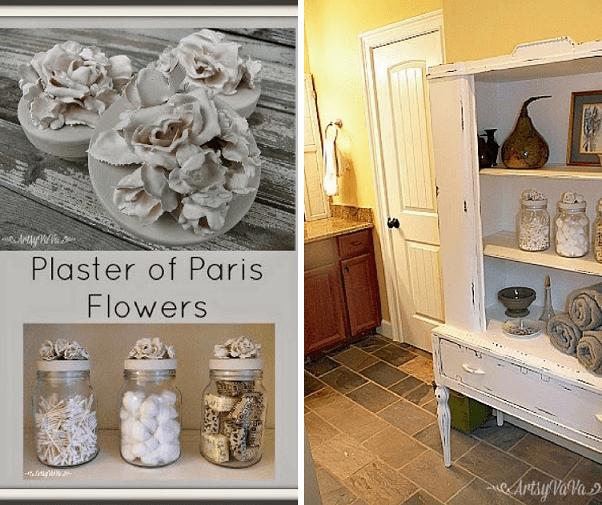 plaster flowers of paris