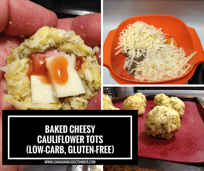Baked Cheesy Cauliflower Tots 1 FB