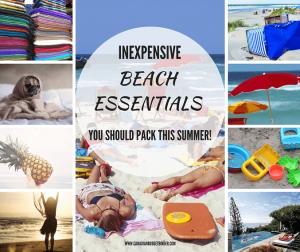 NEXPENSIVE BEACH ESSENTIALS BEACH BAG ESSENTIALS SUMMER