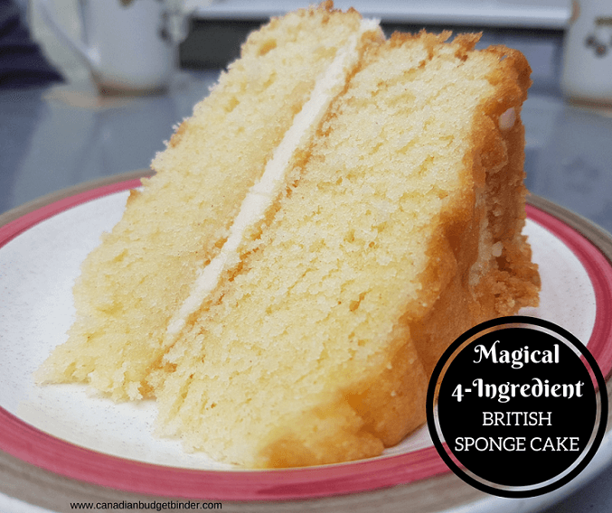 4 ingredient british sponge cake 3 FB