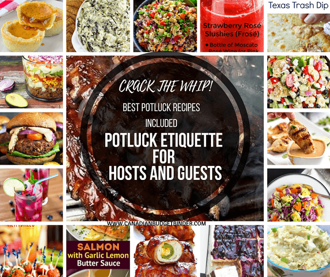 potluck 101 for hosts and guests with recipes