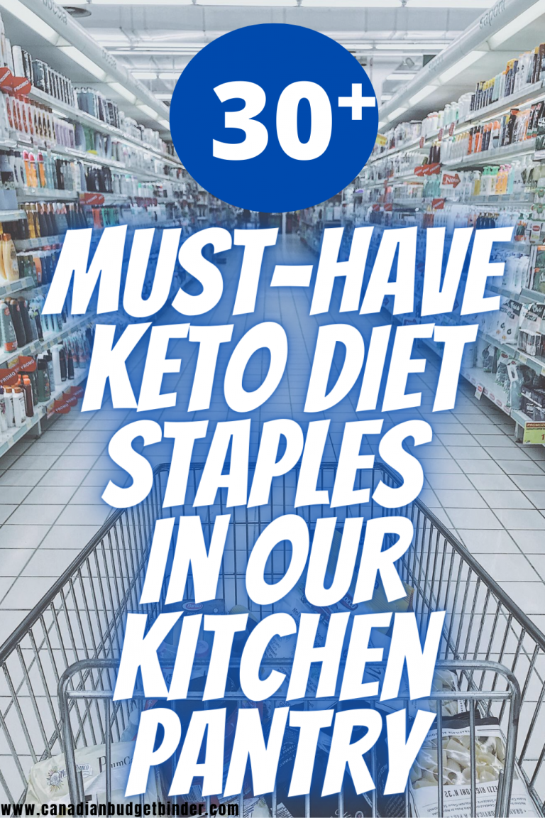 30 Keto Diet Staples You Will Find In Our Kitchen
