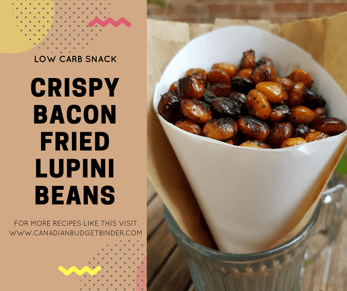 CRISPY BACON FRIED LUPINI BEANS FB3