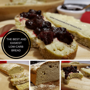 The Best and Easiest Low Carb Bread F1