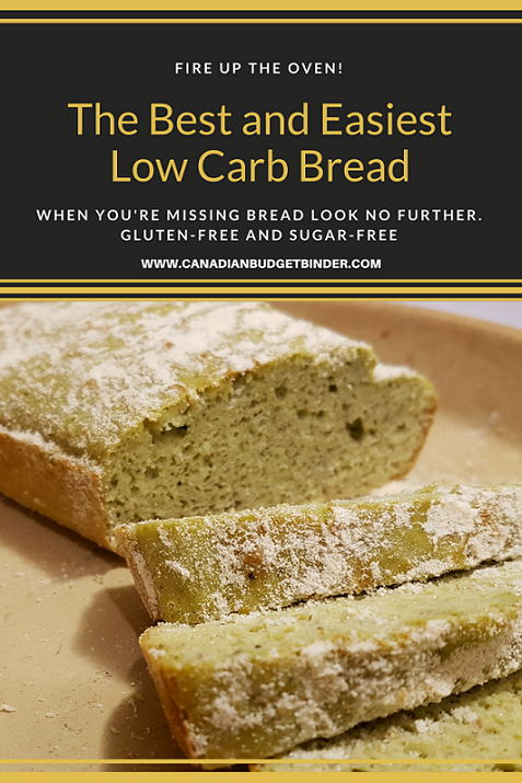 The Best and Easiest Low Carb Bread P1