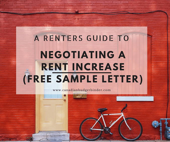 Www Renters Com: A Guide To Help You Negotiate A Rent Increase (Sample