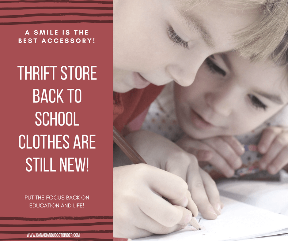 Thrift Store Back To School Clothes Are Still New Clothes ...