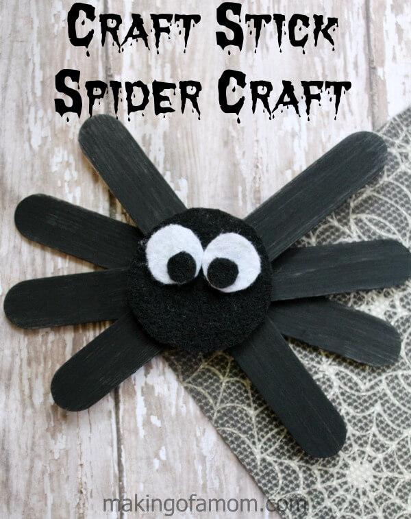 Craft-Stick-Spider-Craft