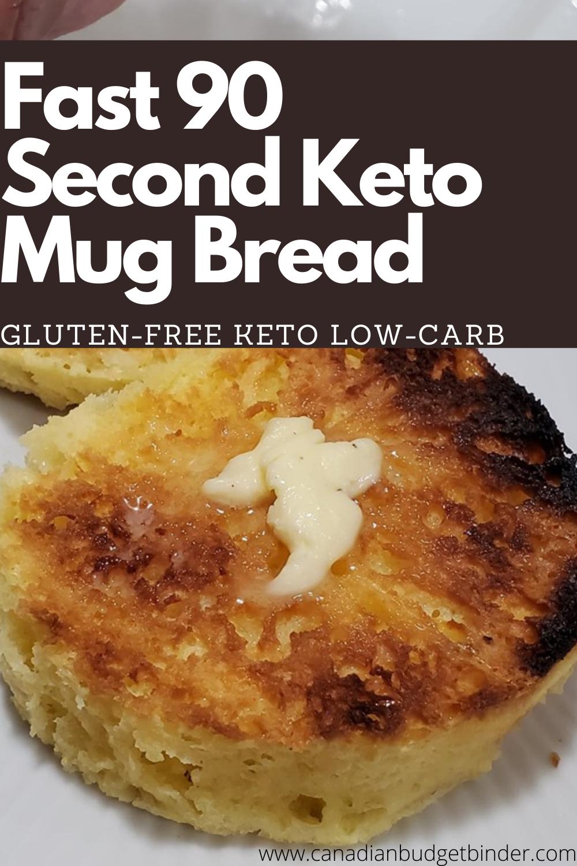 Super-Fast KETO Mug Biscuit In 90 Seconds
