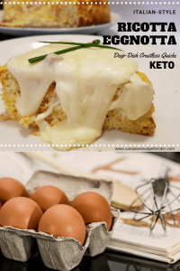 Keto Crustless Egg Quiche