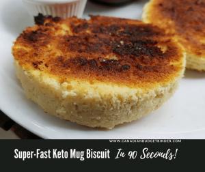 keto mug biscuit 90 seconds Facebook