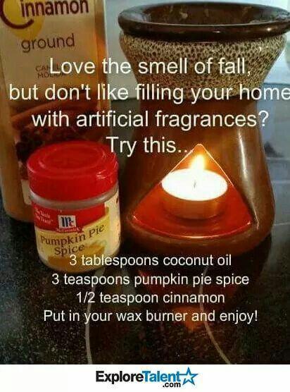 pumpkin pie fragrance