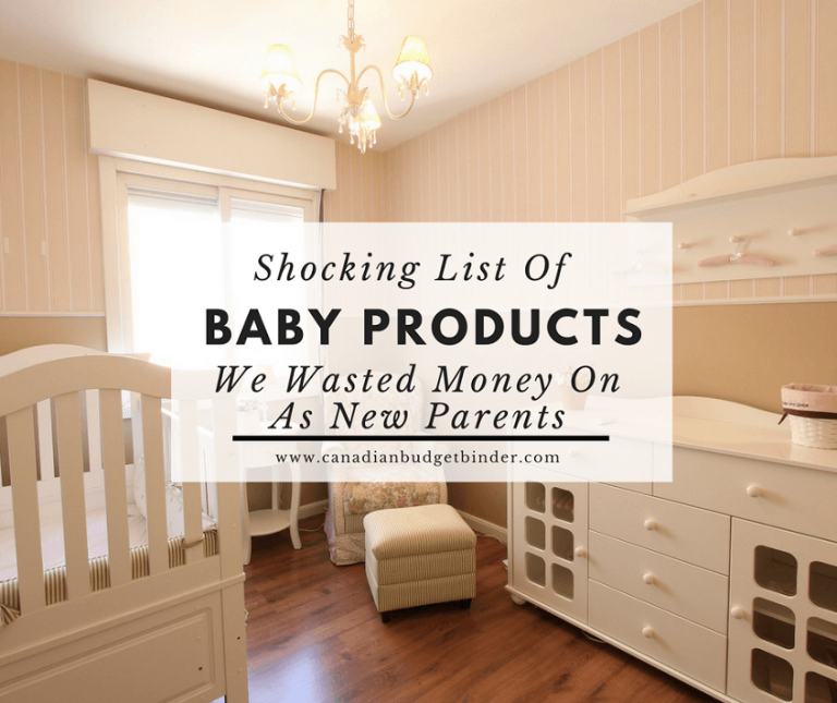 Shocking List Of Baby Products We Wasted Money On