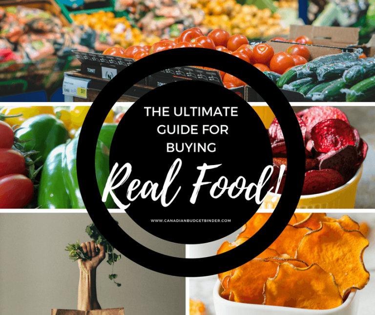 The Ultimate Guide For Buying Real Food : The Grocery Game Challenge 2017 #1 Oct 2-8