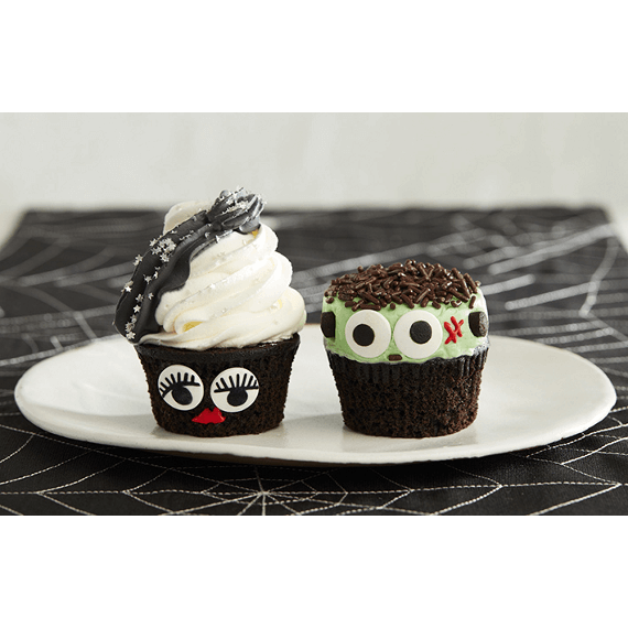 monster cupcakes Halloween recipes