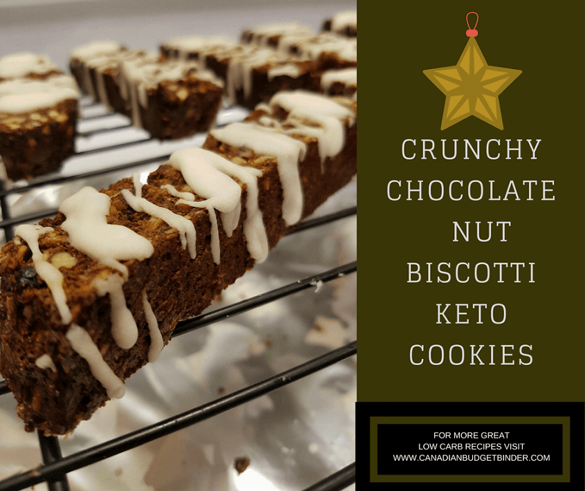 CRUNCHY CHOCOLATE NUT BISCOTTI KETO COOKIES 4