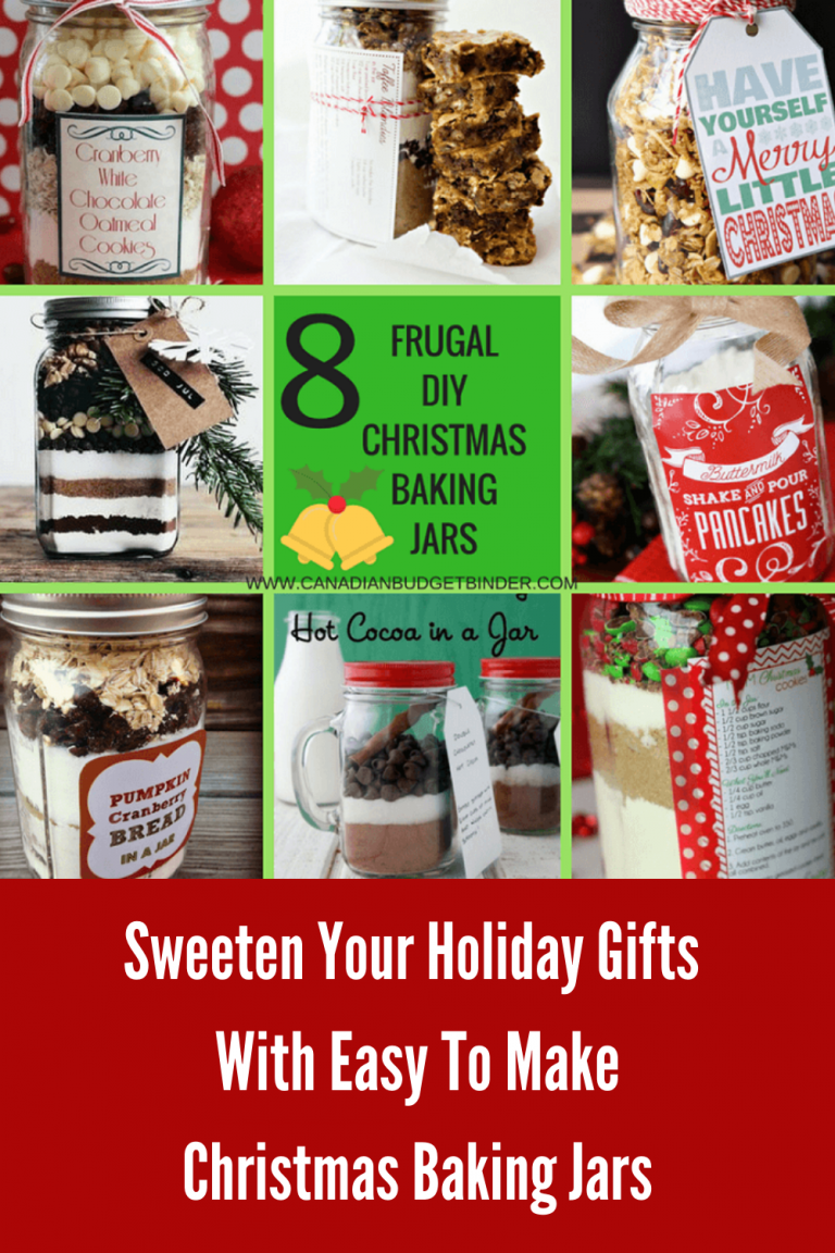 8 Frugal DIY Christmas Baking Gifts In A Jar