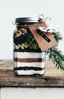 brownie mix in jar no source