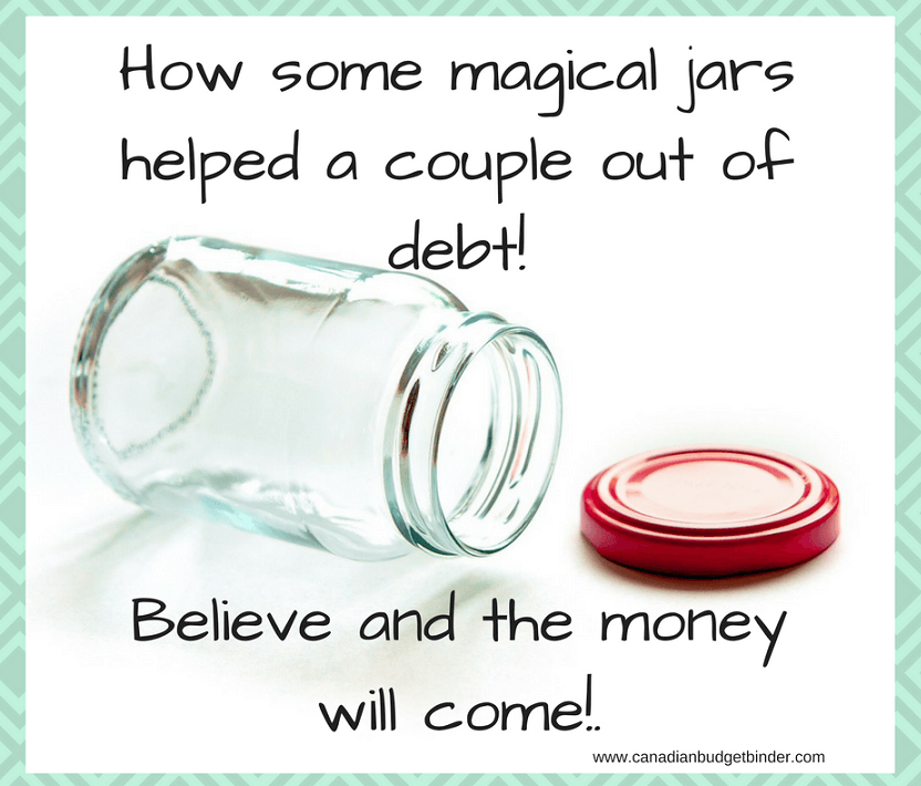 how some magical budget jars helped one couple out of debt