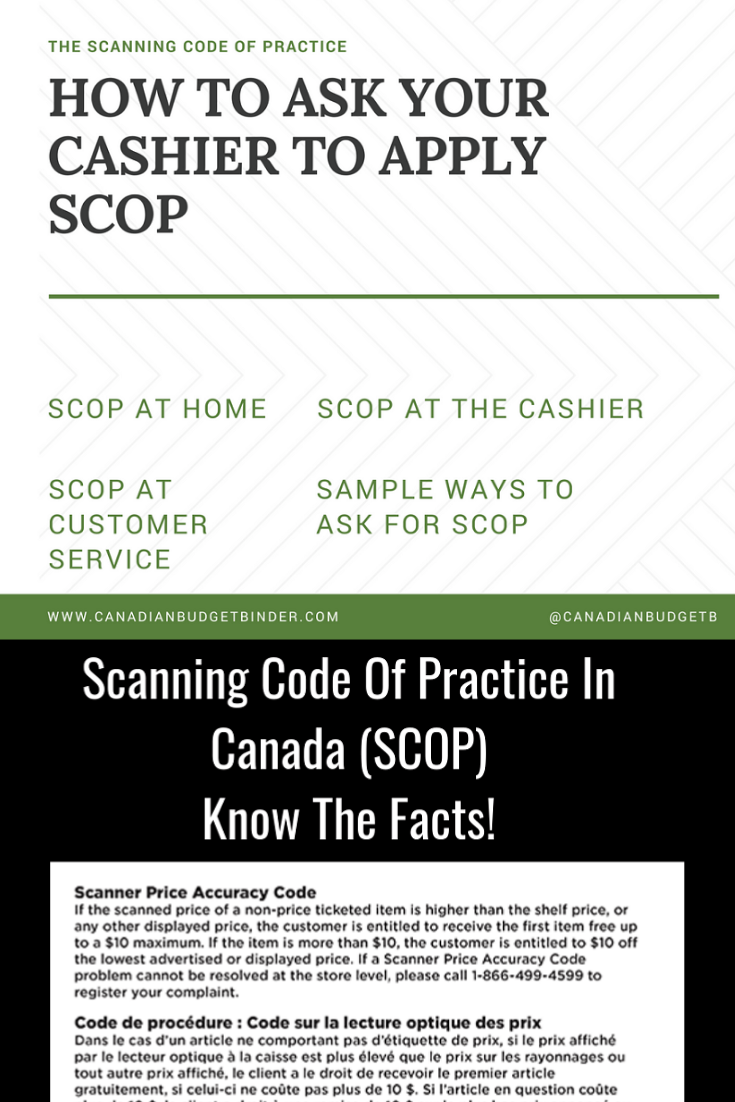 How To Ask Your Cashier To Apply Scanner Price Accuracy Code (SCOP)