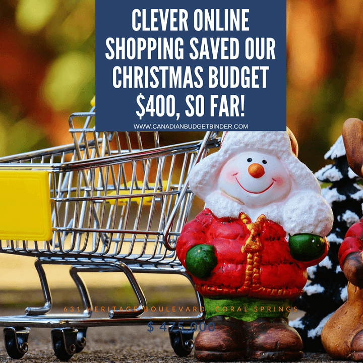 Clever Online Shopping Saved Our Christmas Budget $400 So Far : The Saturday Weekend Review #242