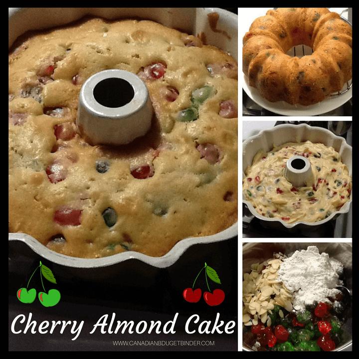 Cherry Almond Cake FB