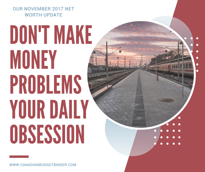 Don't make money problems your daily obsession