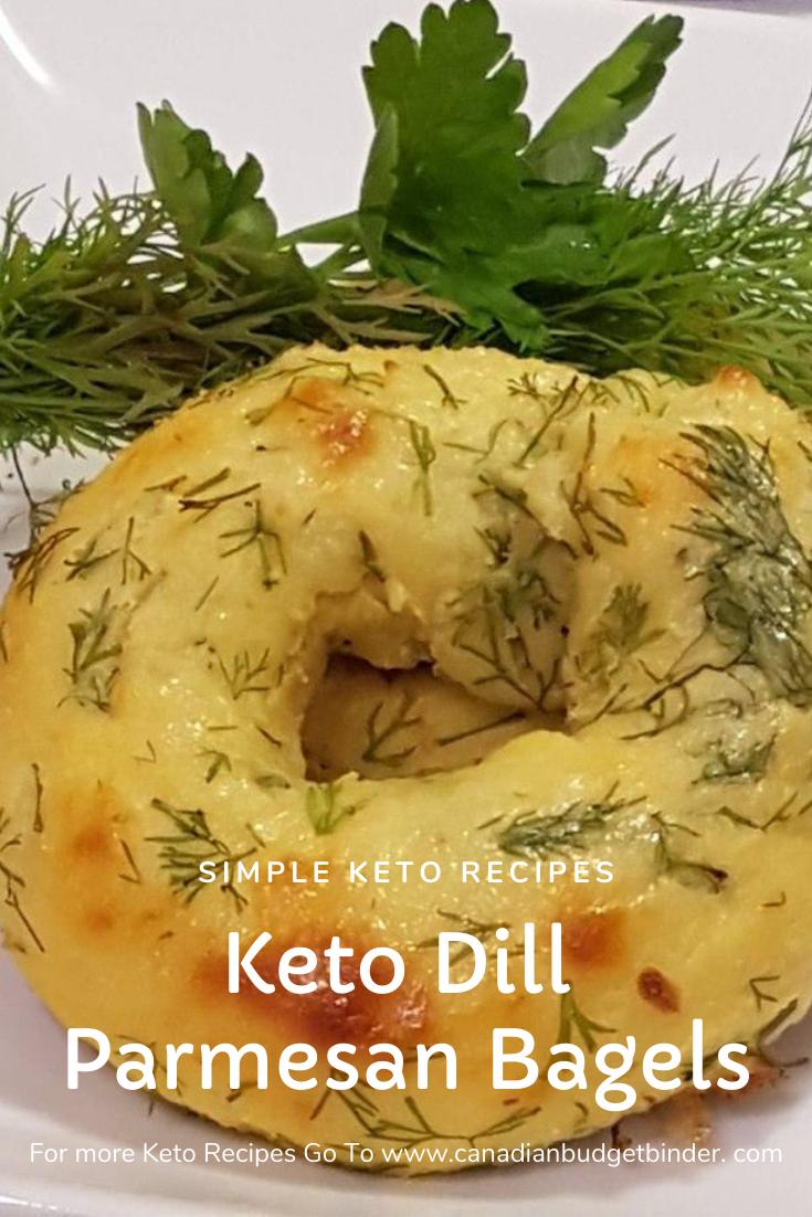Dill Keto Bagels