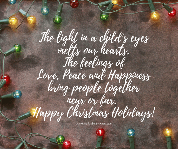 THE LIGHT IN A CHILD'S EYES Christmas meme