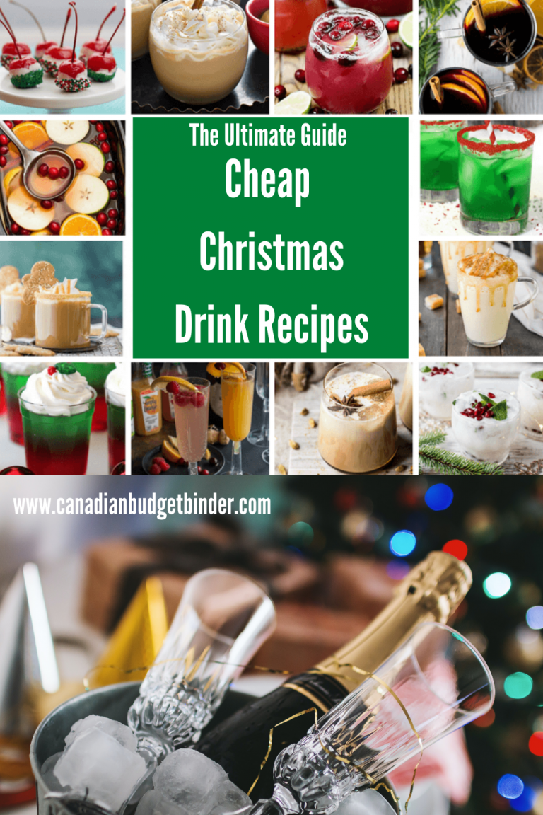 The Ultimate Guide Of Economical Christmas Drinks