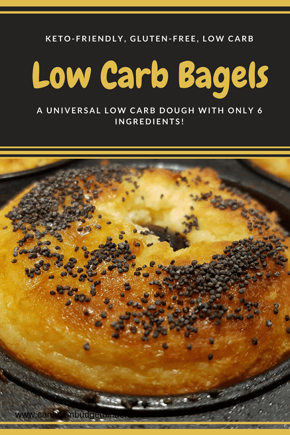 low carb bagels 2p