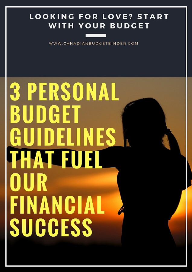 3 Budget Guidelines That Fuel Our Financial Success