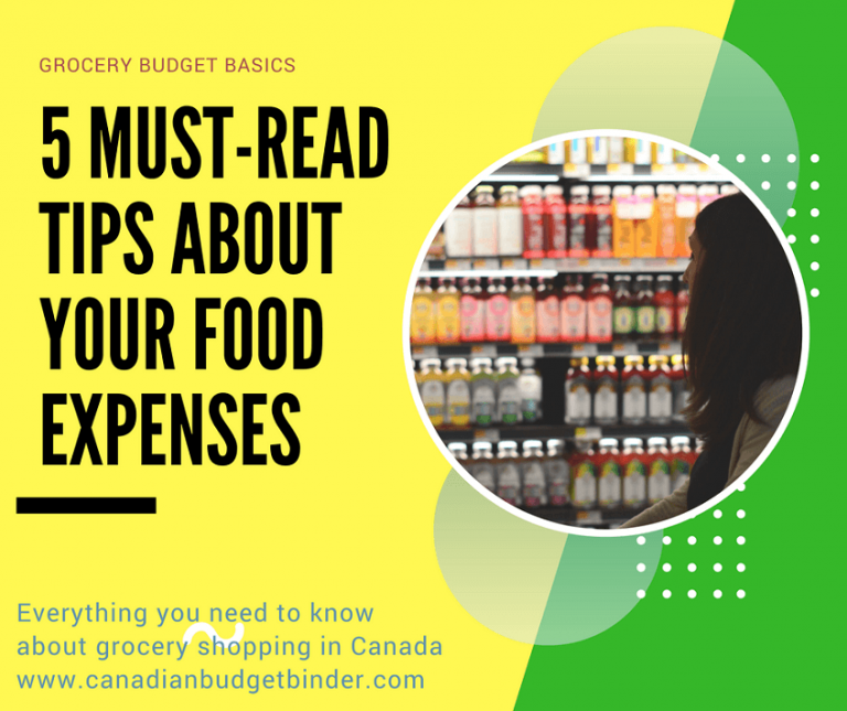 Grocery Budget Basics: 5 Must-Read Tips About Your Food Expenses