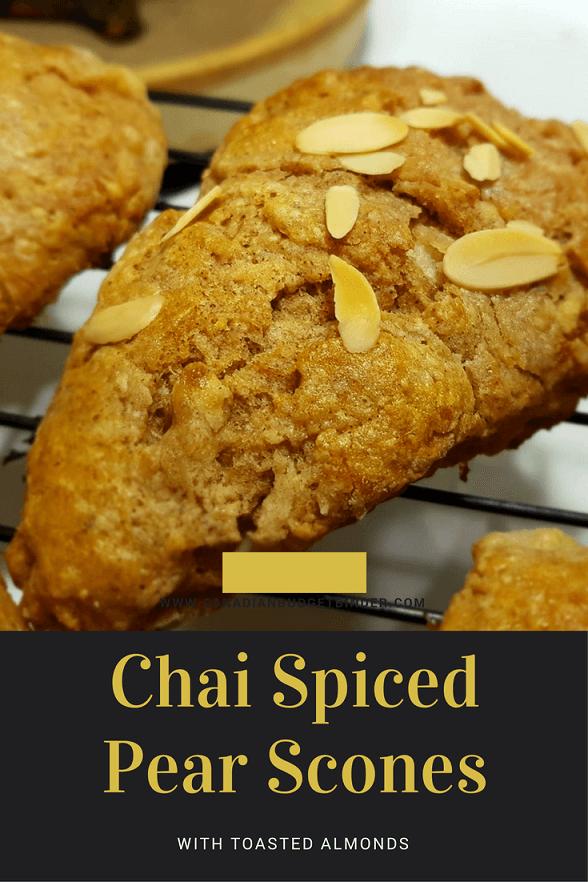 chai spiced pear scones Pint 2