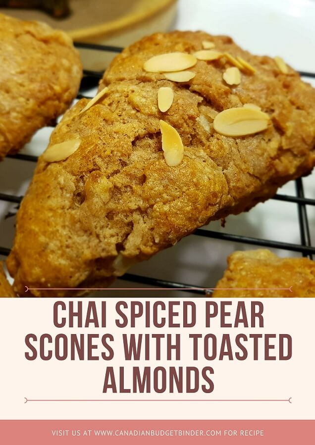 chai spiced pear scones pinterest 2
