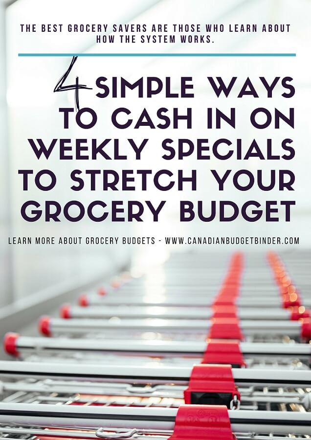 4 Simple Ways To Cash In On Weekly Specials To Stretch Your Budget : The Grocery Game Challenge 2018 #5 Jan 29-Feb 4