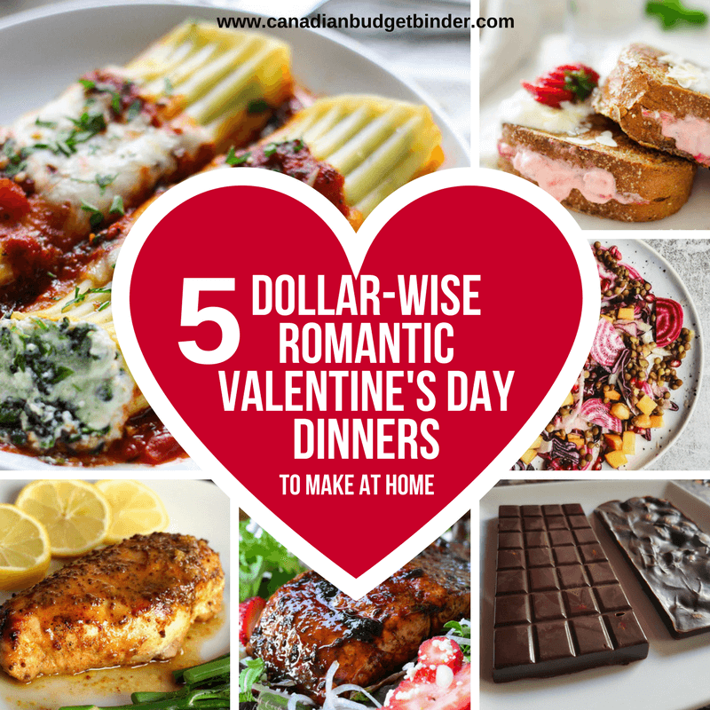 Valentines Day Dinners: 5 Dollar-Wise Romantic Valentine's Day Dinner Ideas : The