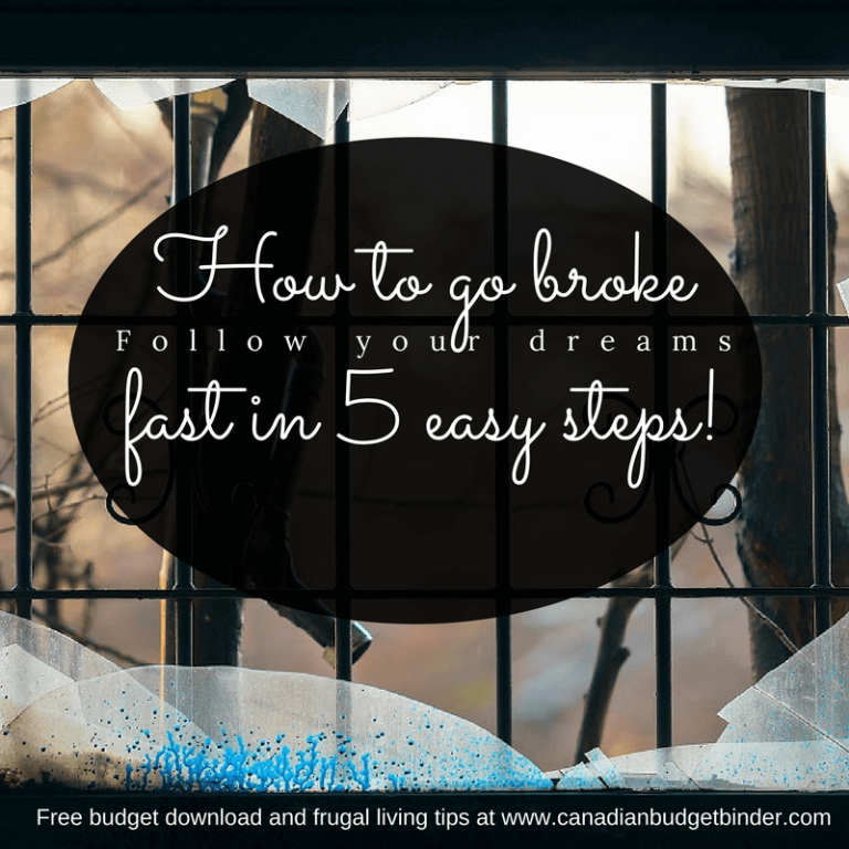 How To Go Broke Quick In 5 Easy Steps : Our Net Worth Update Jan 2018 (+0.39%)