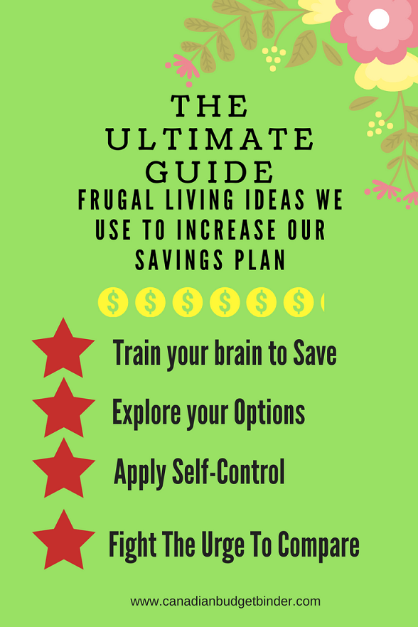 The Ultimate Guide Of Frugal Living Ideas To Increase Savings : January 2018 Budget Update