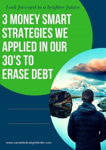 money smart strategies we used in our 30s to erase debt
